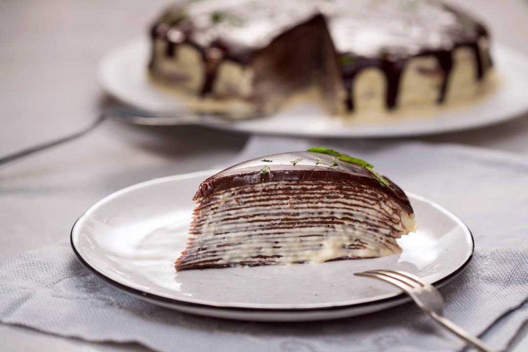 Нещо сладко с Павел Павлов | Торта от шоколадови палачинки