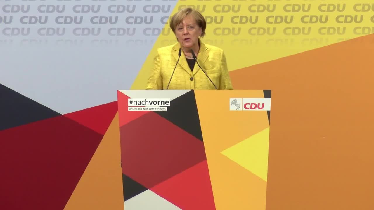 Germany: 'We have a lot of homework to do' - Merkel laments drop in votes