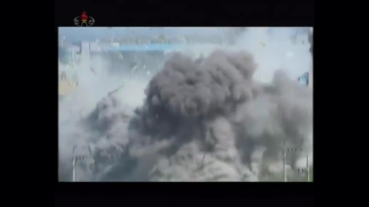 North Korea: State media broacasts footage of inter-Korean liaison office's destruction