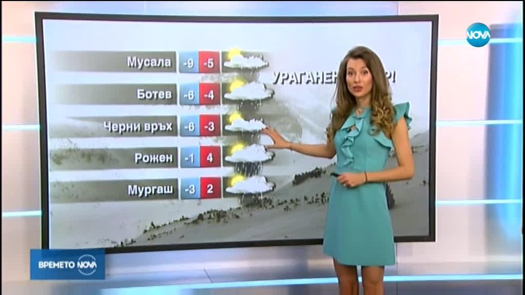 Прогноза за времето (10.02.2020 - централна емисия)
