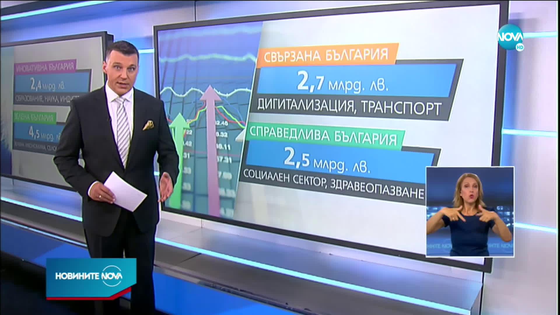 Томислав Дончев представи плана за възстановяване и устойчивост на България