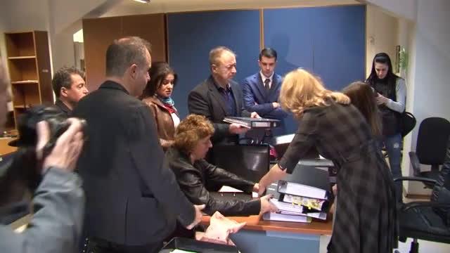 Екипът на Слави Трифонов регистрира партия