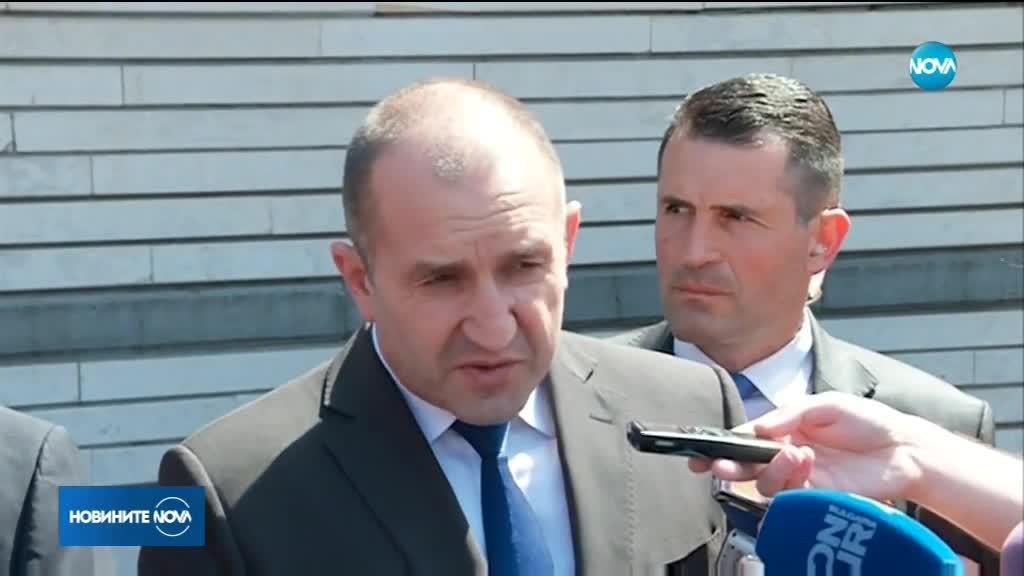 Президентът: Има политици, които водят война с българската държавност