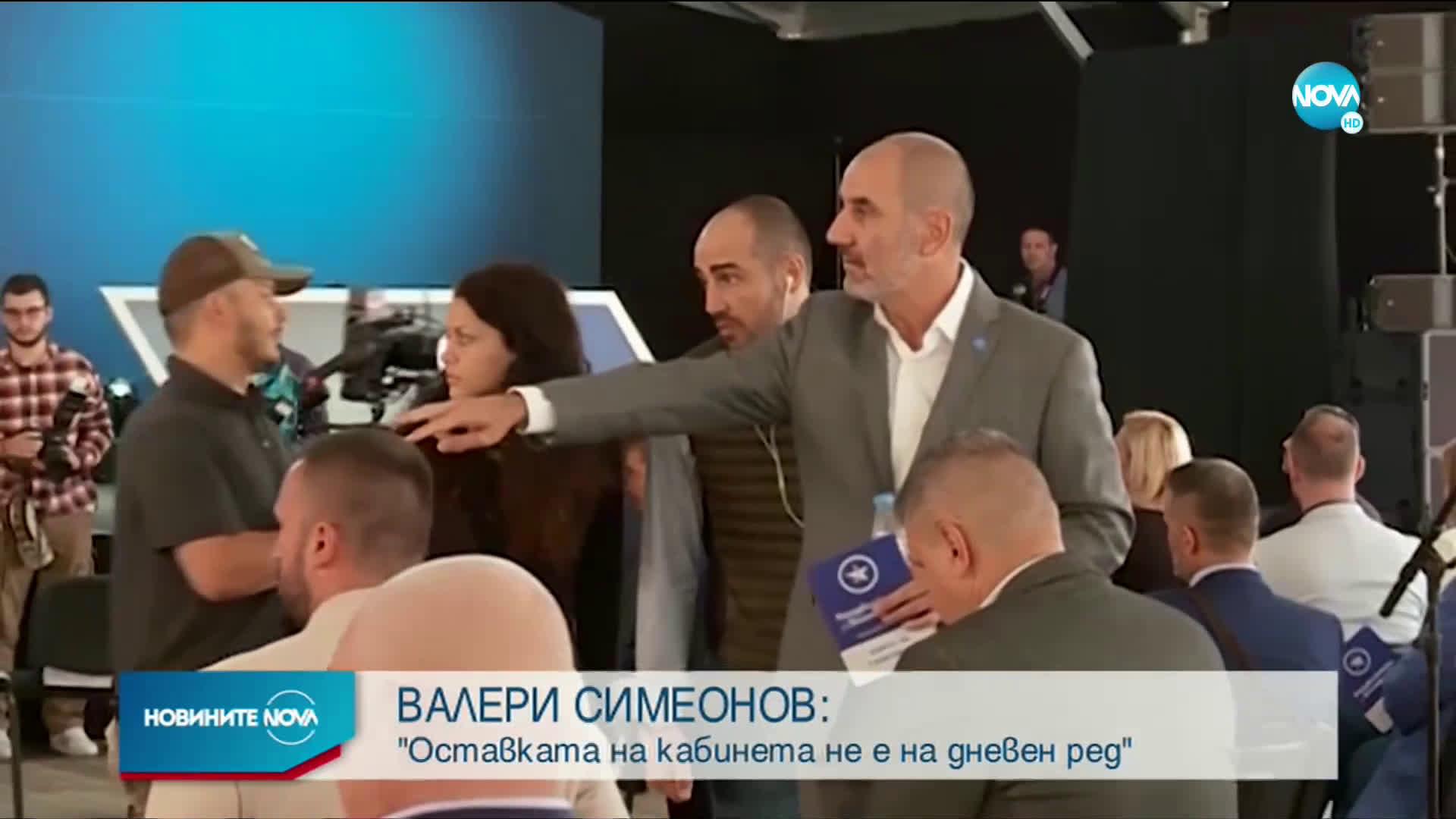Симеонов: Протестиращи хвърлят яйца, защото нямат калашници