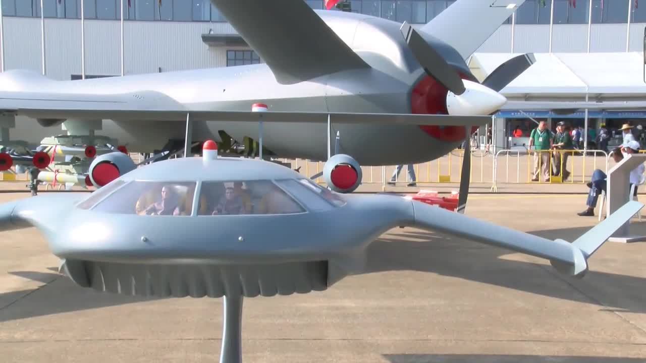 China: China's largest ever unmanned combat drone unveiled