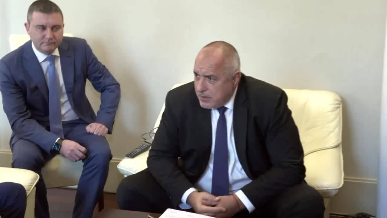 Срещата на феновете на Левски с Бойко Борисов