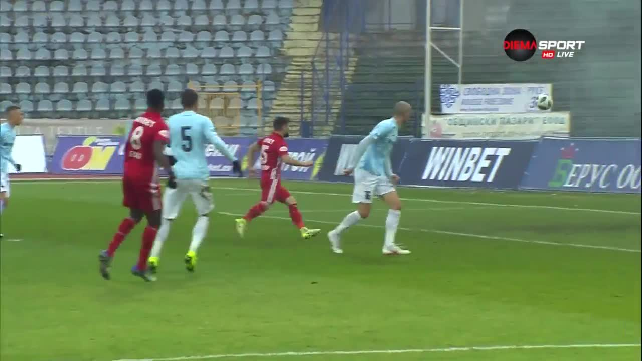 Дунав - ЦСКА 0:2 /репортаж/
