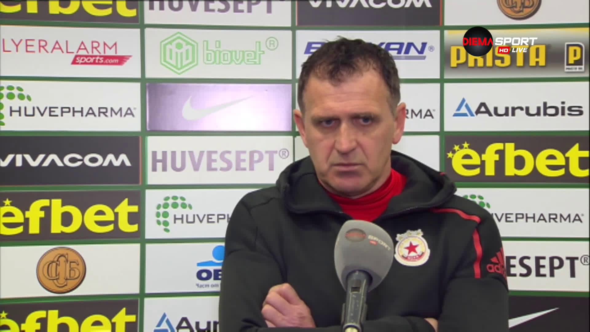 Акрапович: Имахме достатъчно възможности, но последното докосване го нямаше