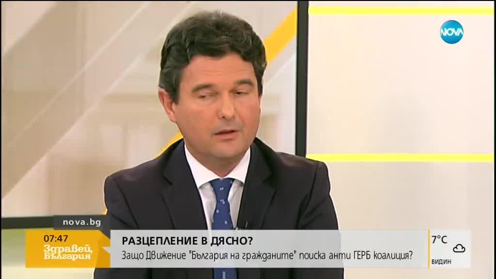 Зеленогорски: Трябва да се върви към предсрочни избори