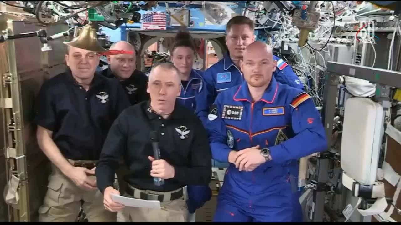 ISS: Expedition 56 bids farewell to ISS and begins journey home