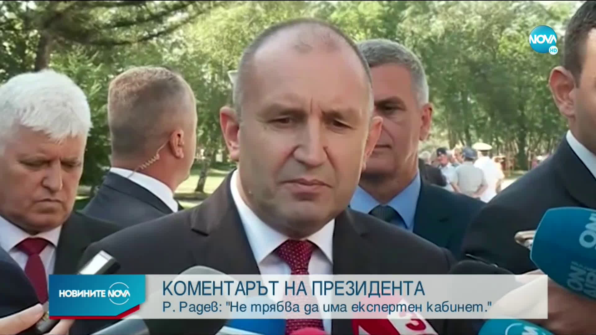 Радев: Имам готов вариант за конституция