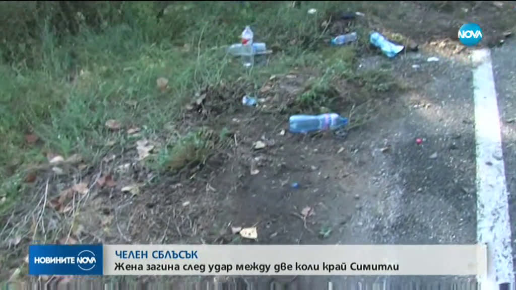 Жена загина, мъж и дете са ранени при катастрофа на път Е-79