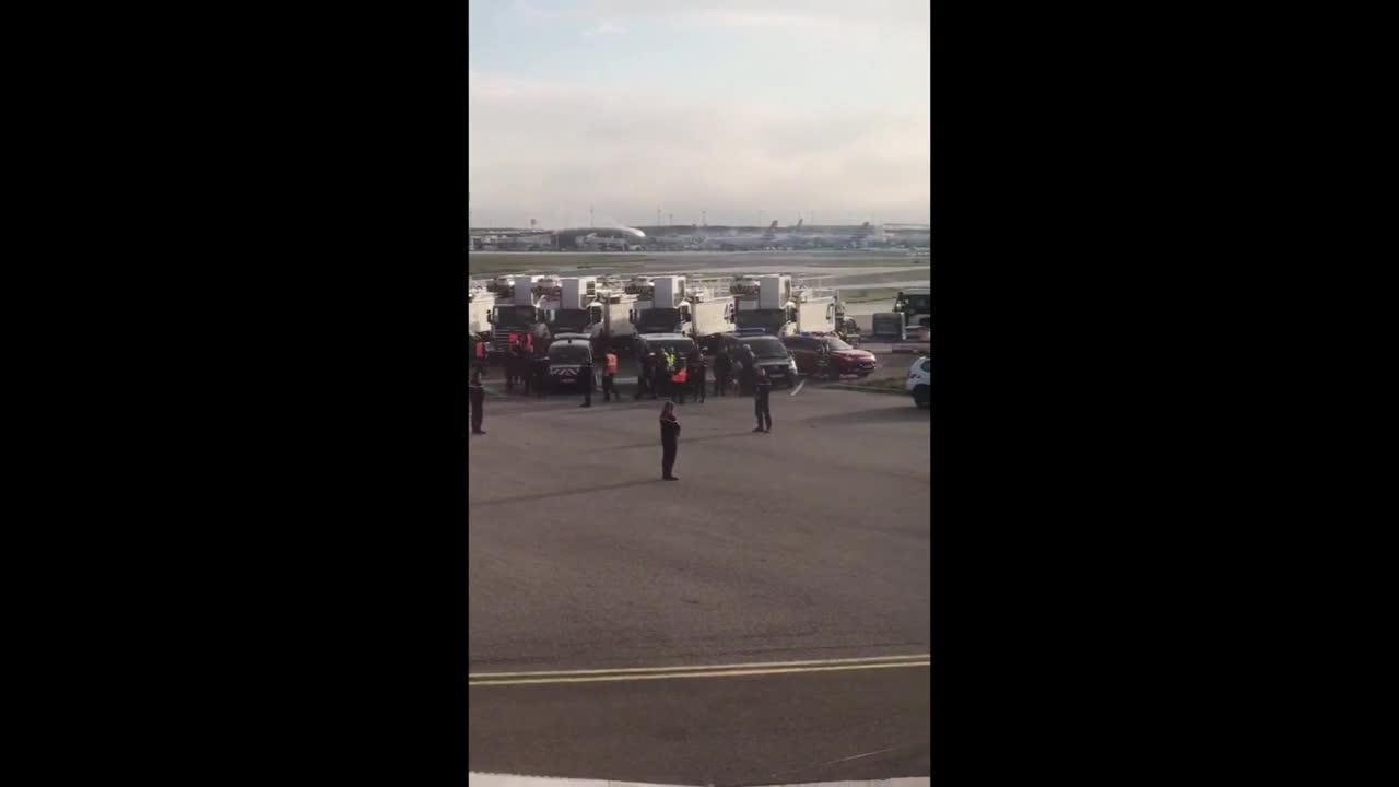 France: British Airways plane evacuated in Paris due to security threat