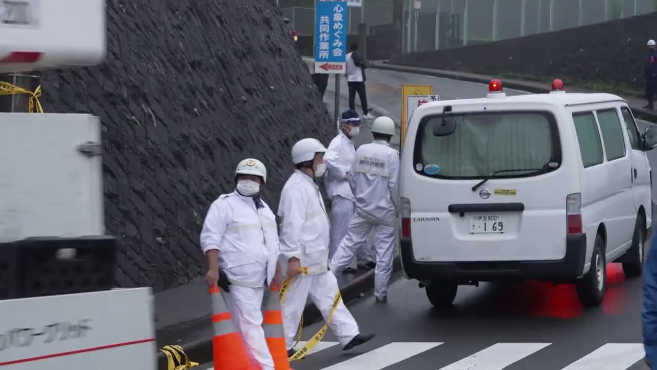 Japan: At least 19 missing after landslide hits resort town near Tokyo