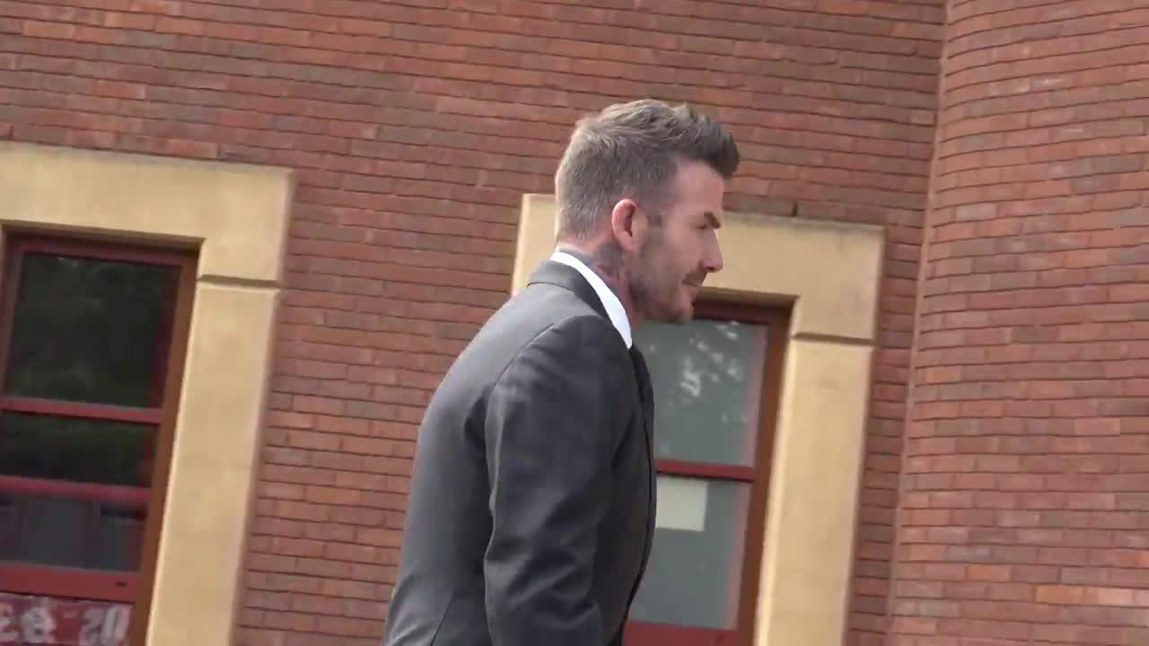 UK: David Beckham appears in London court over driving misdemeanour