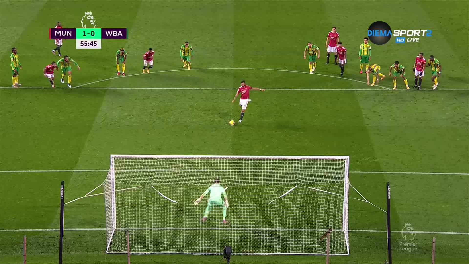 Манчестер Юнайтед - Уест Бромич Албиън 1:0 /репортаж/
