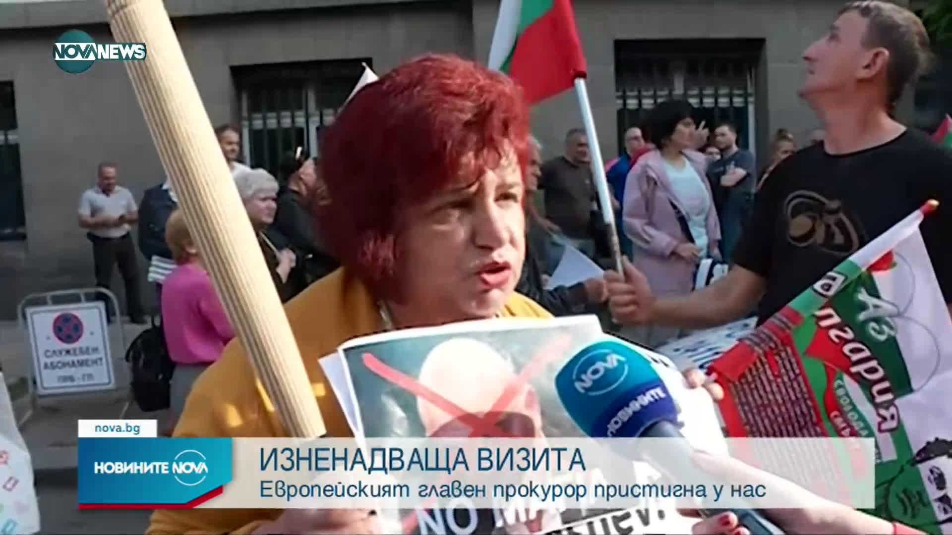 Лаура Кьовеши се срещна с Иван Гешев
