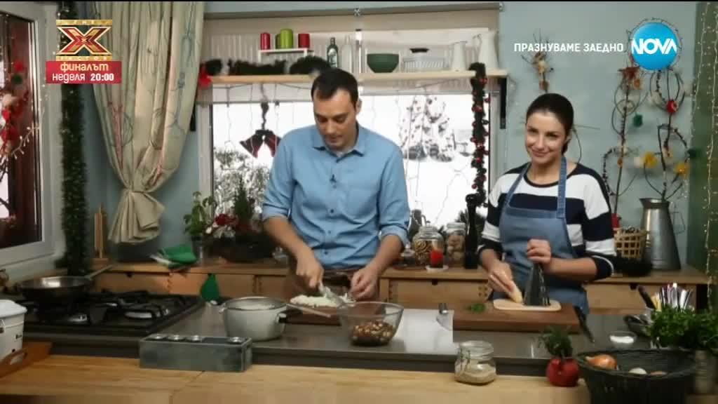 Гъбена салата с перлен ечемик - Бон Апети (15.12.2017)