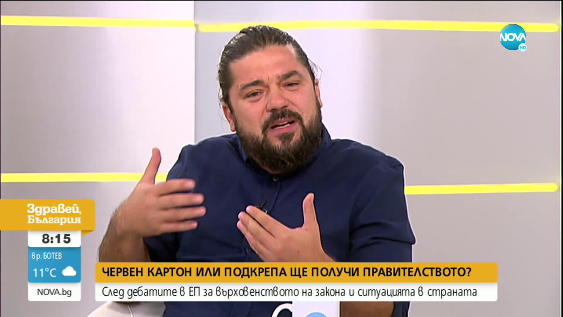 СЛЕД ДЕБАТИТЕ В ЕП: Червен картон или подкрепа ще получи българското правителство?