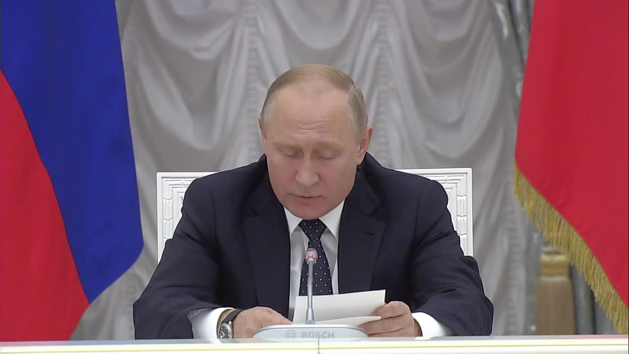 Russia: Putin outlines priorities for new gov.