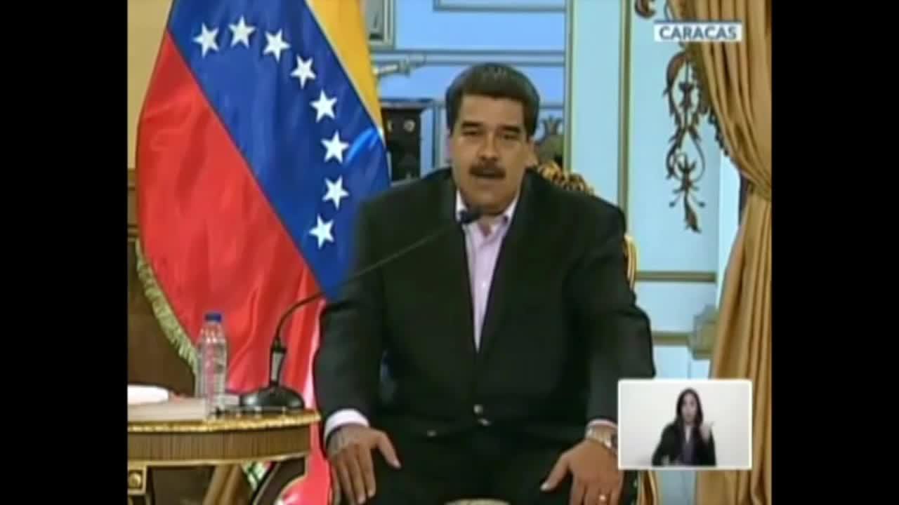 Venezuela: \'Donald Trump, hands off\' – Maduro