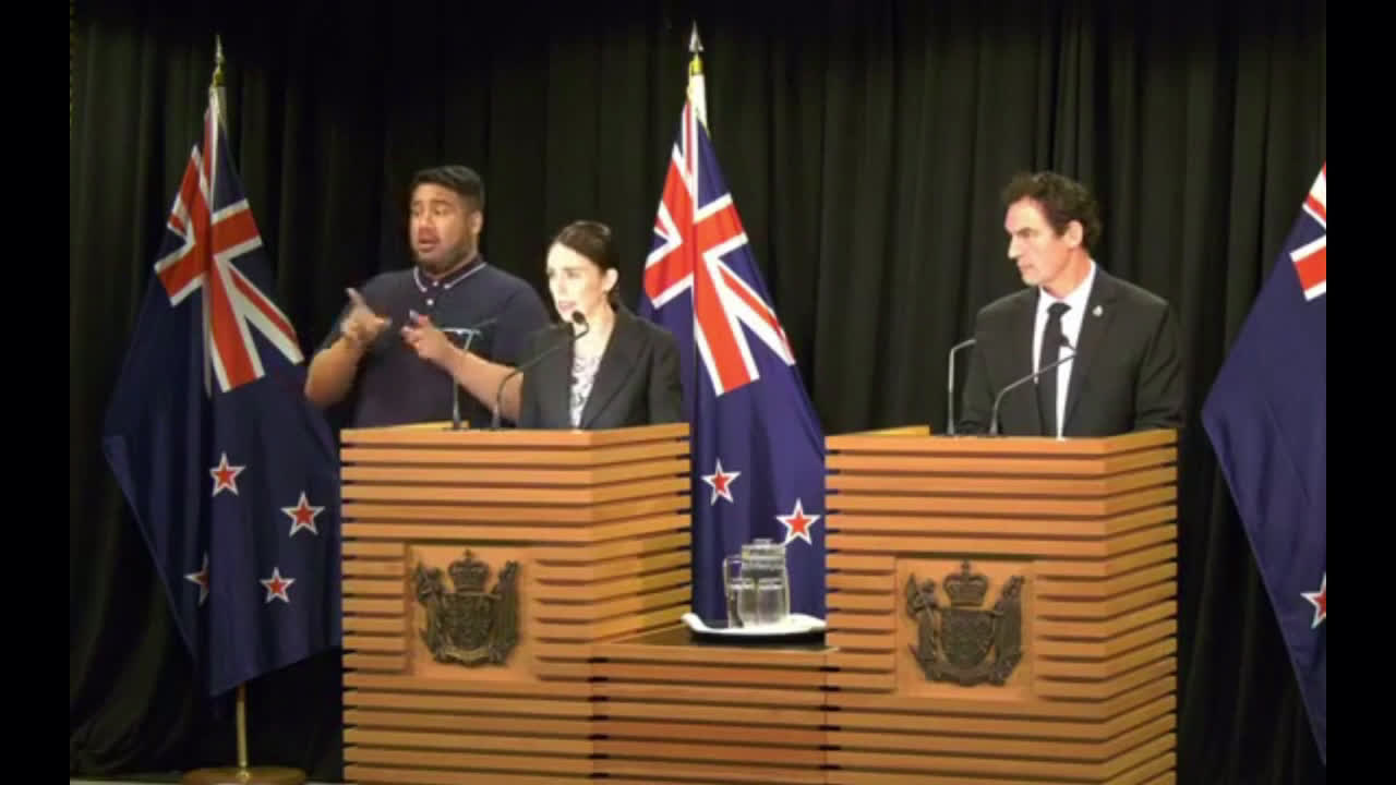 New Zealand: PM announces ban on semi-automatic weapons and assault rifles