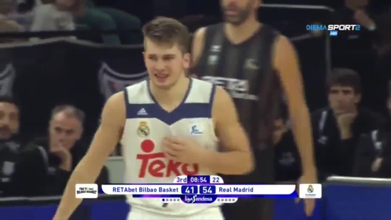 Брилянтен Лука Дончич срещу Билбао