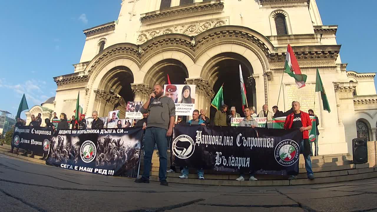 Протест срещу нелегалните имигранти