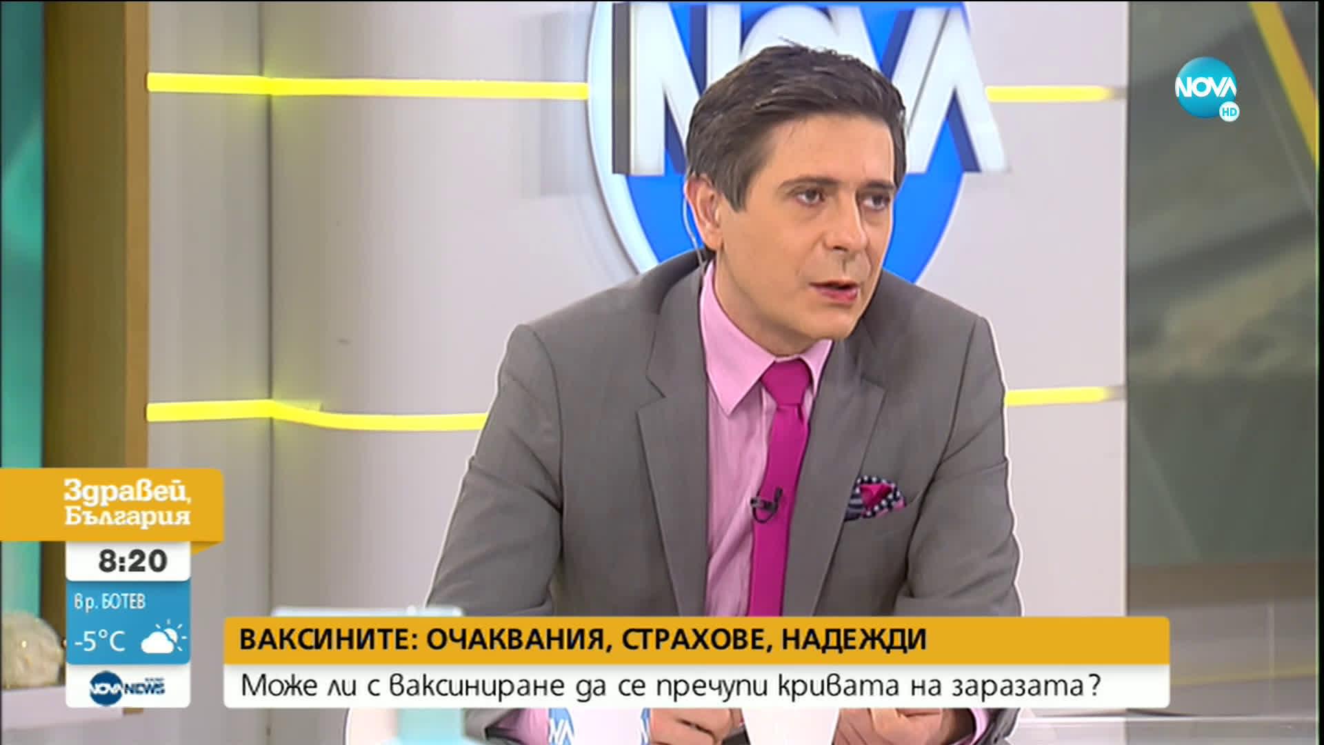 """Директорът на """"Александровска"""": Бих се ваксинирал с първата ваксина, която ще дойде"""