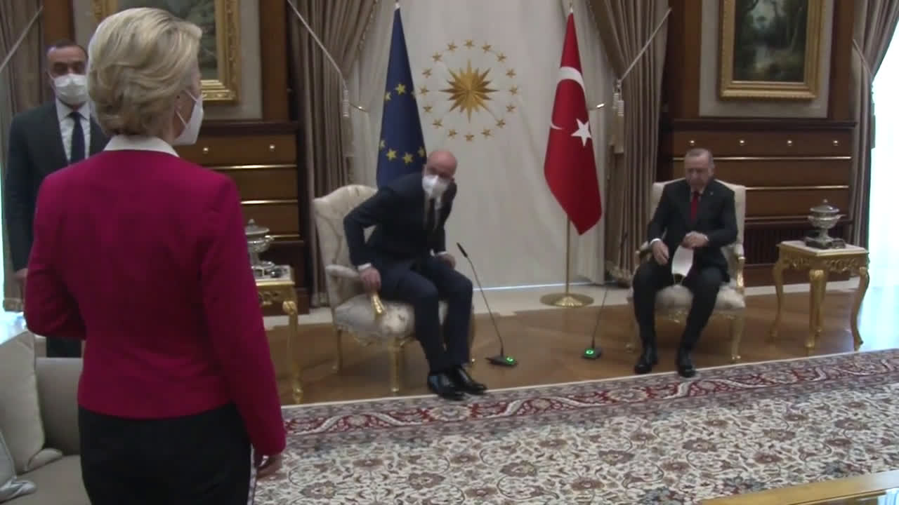 Sofagate! Von der Leyen chair snub in Ankara causes social media stir