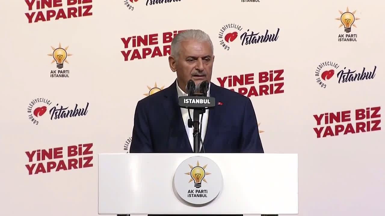 Turkey: AKP's Binali Yildirim concedes re-run Istanbul mayoral election
