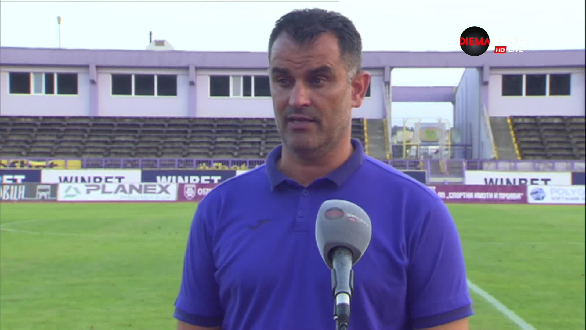 Веселин Великов: Нашата голяма цел е да се върнем в efbet Лига