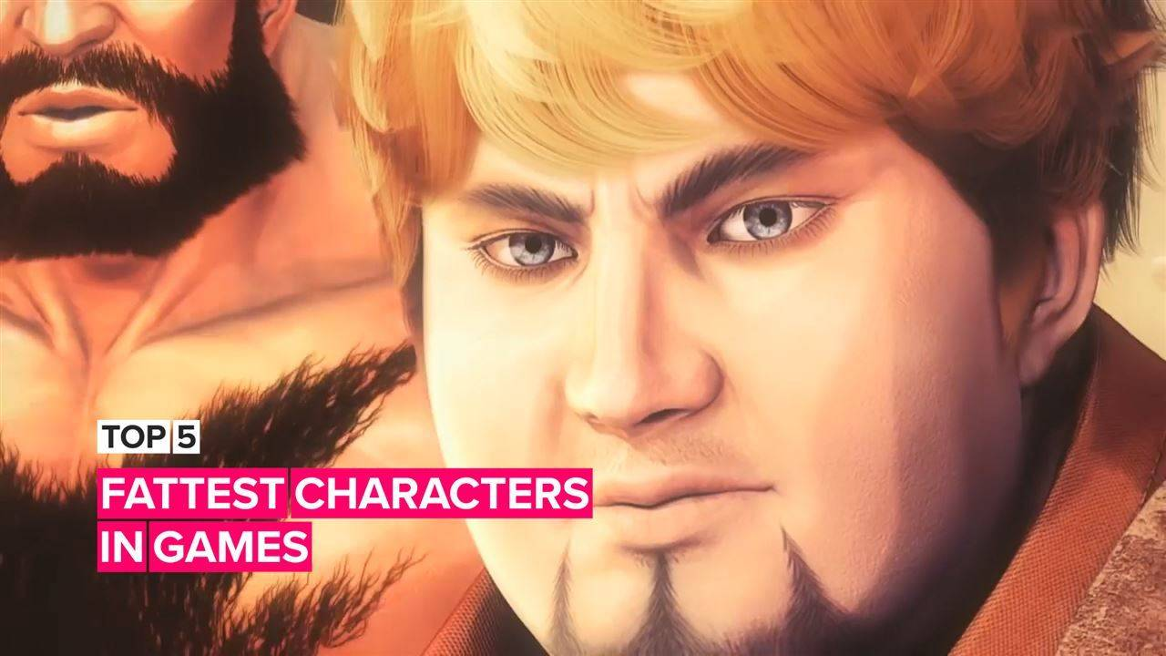 5 of the fattest characters in the world of video games