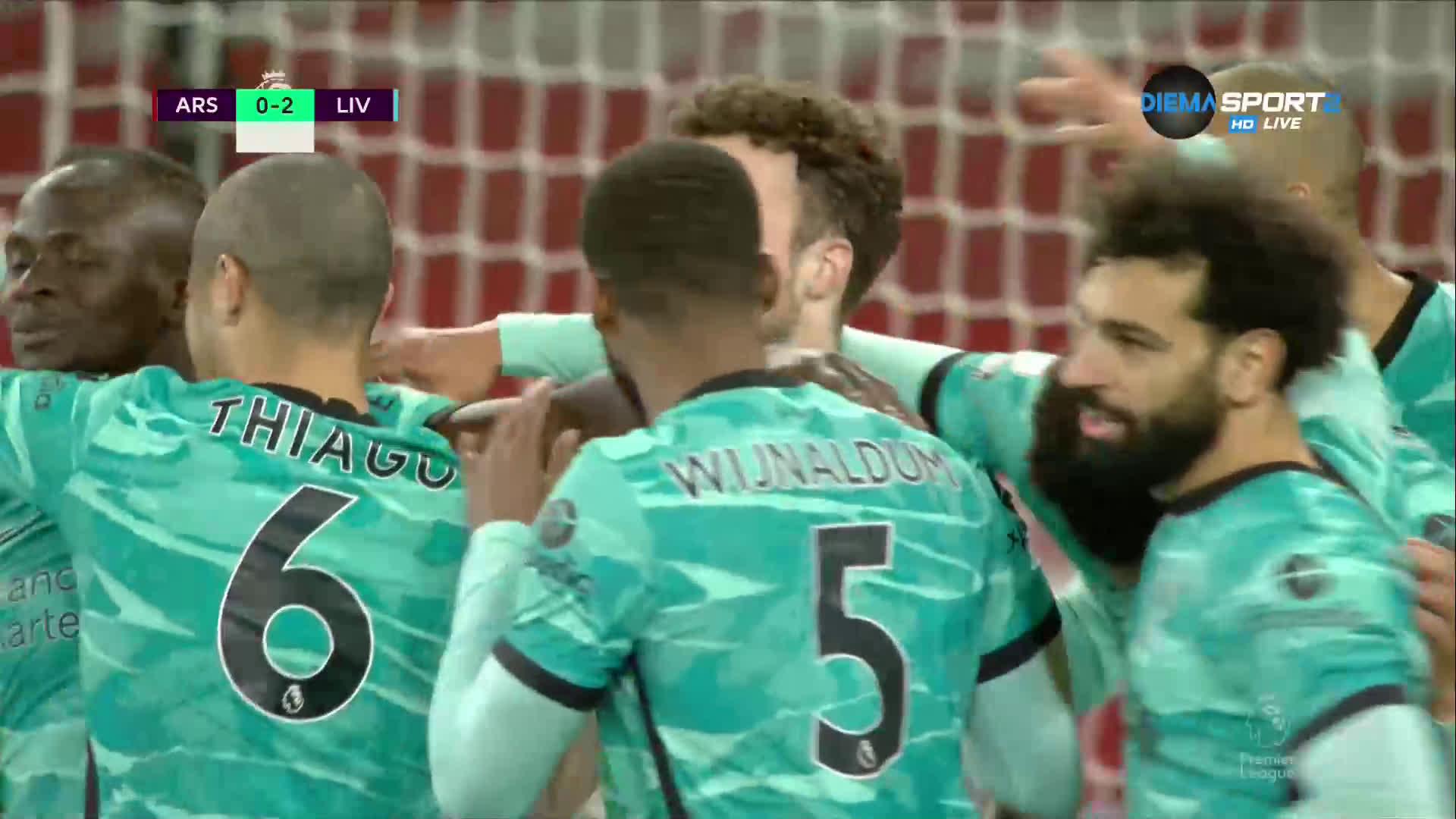 Арсенал - Ливърпул 0:3 /репортаж/