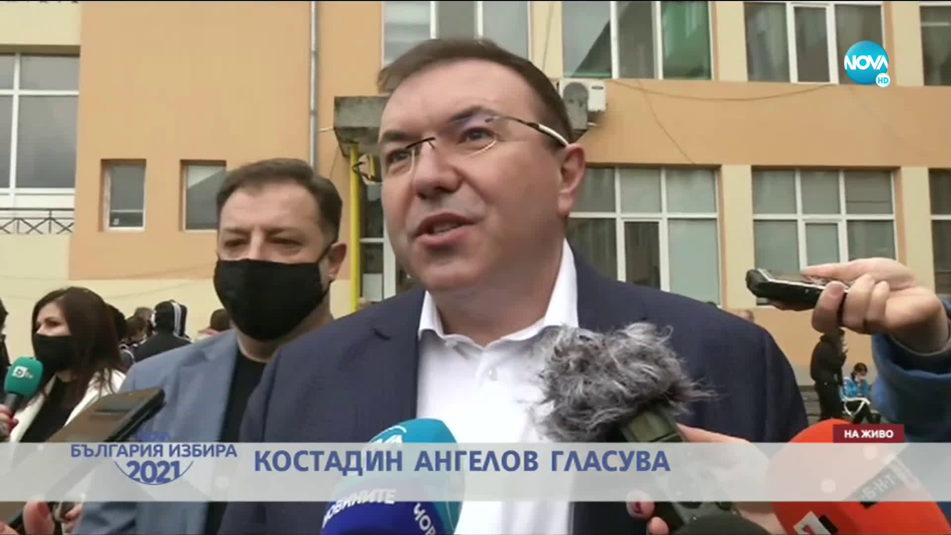 Проф. Ангелов: Гласувах за здравето и спокойствието на хората