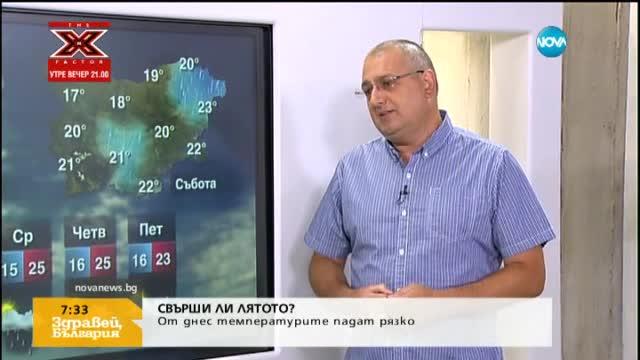 Синоптик: Лятото не си е отишло