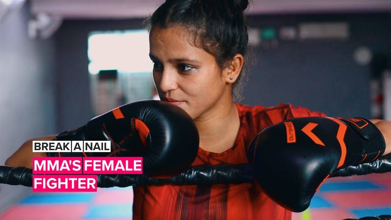 Break A Nail: This fighter is bringing everything she has to the ring