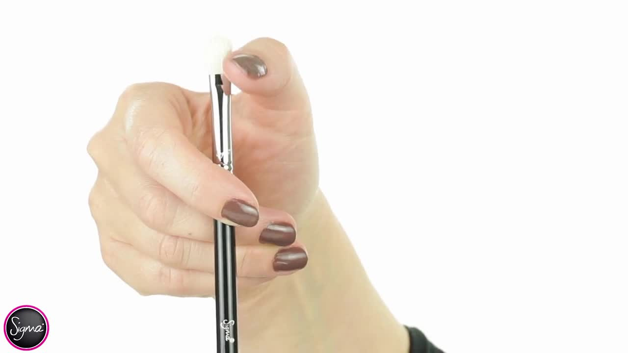E25 - Sigma четки за грим - видео презентация. преливане на цветове