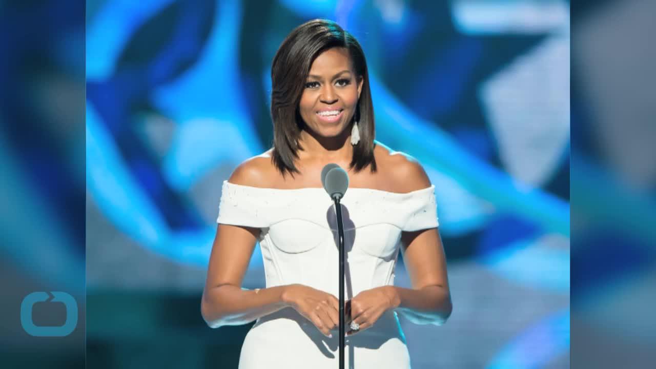 Michelle Obama Gives an Inspirational Speech at Black Girls Rock!