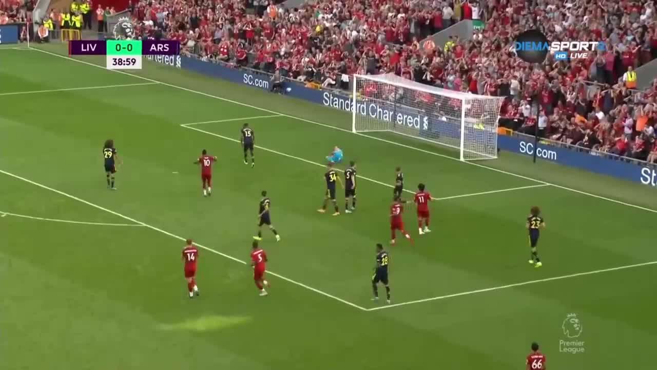 Ливърпул - Арсенал 3:1 /репортаж/