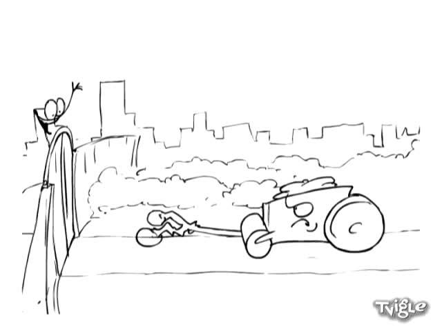 Валяк срещу Велосипед ( Хрус Team ) Red Medusa