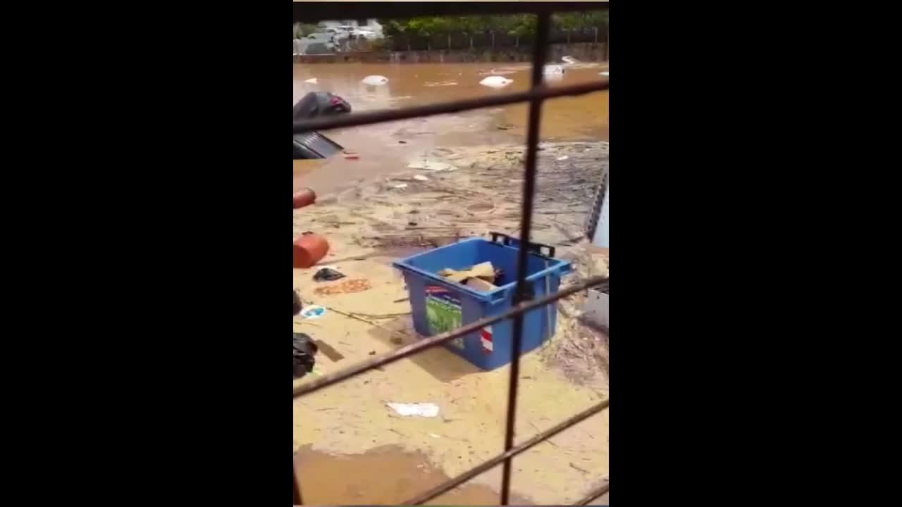 Greece: Heavy flooding hits Athens' Maroussi suburb