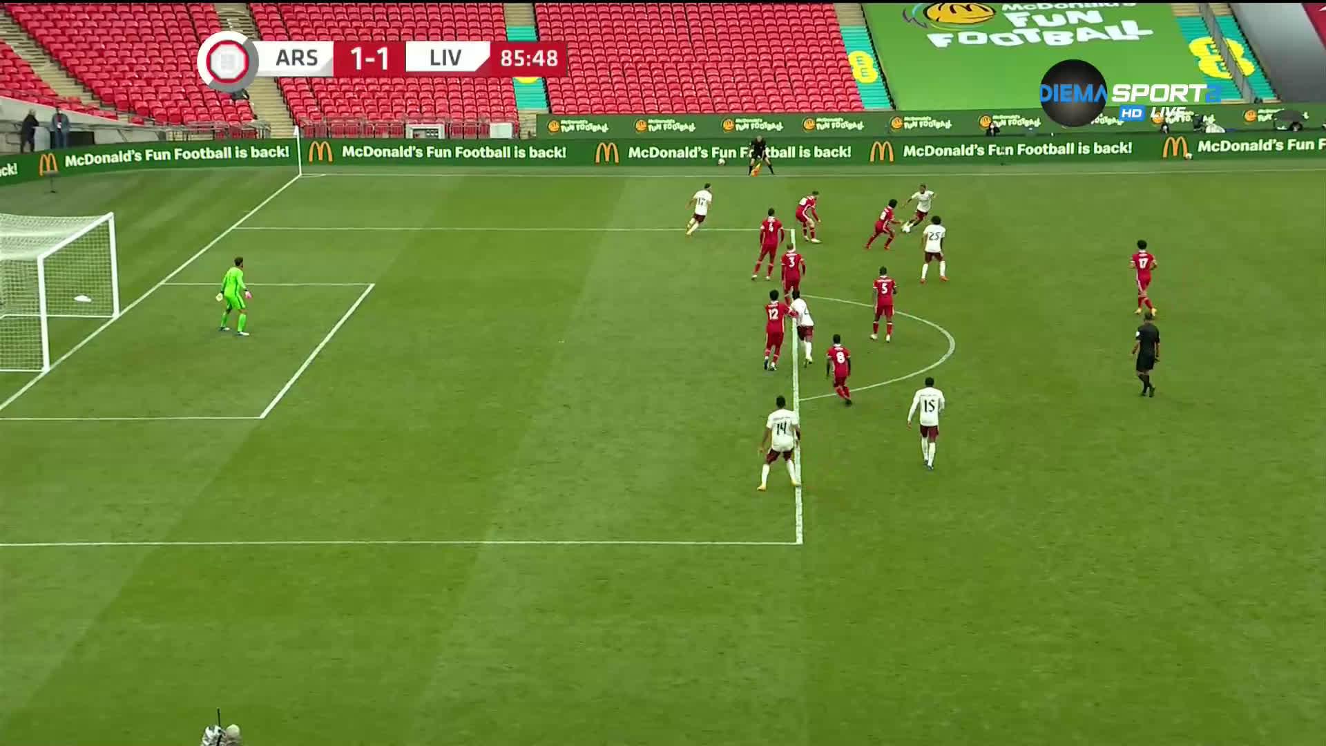 Арсенал - Ливърпул 1:1 /5:4 след дузпи/