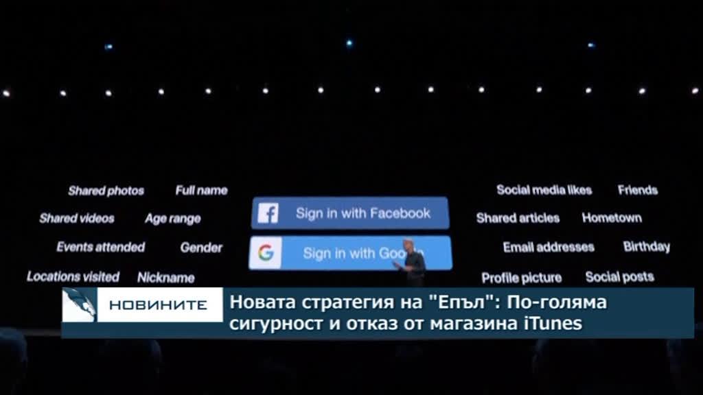 """Новата стратегия на """"Епъл"""": По-голяма сигурност и отказ от мултимедийния магазин iTines"""
