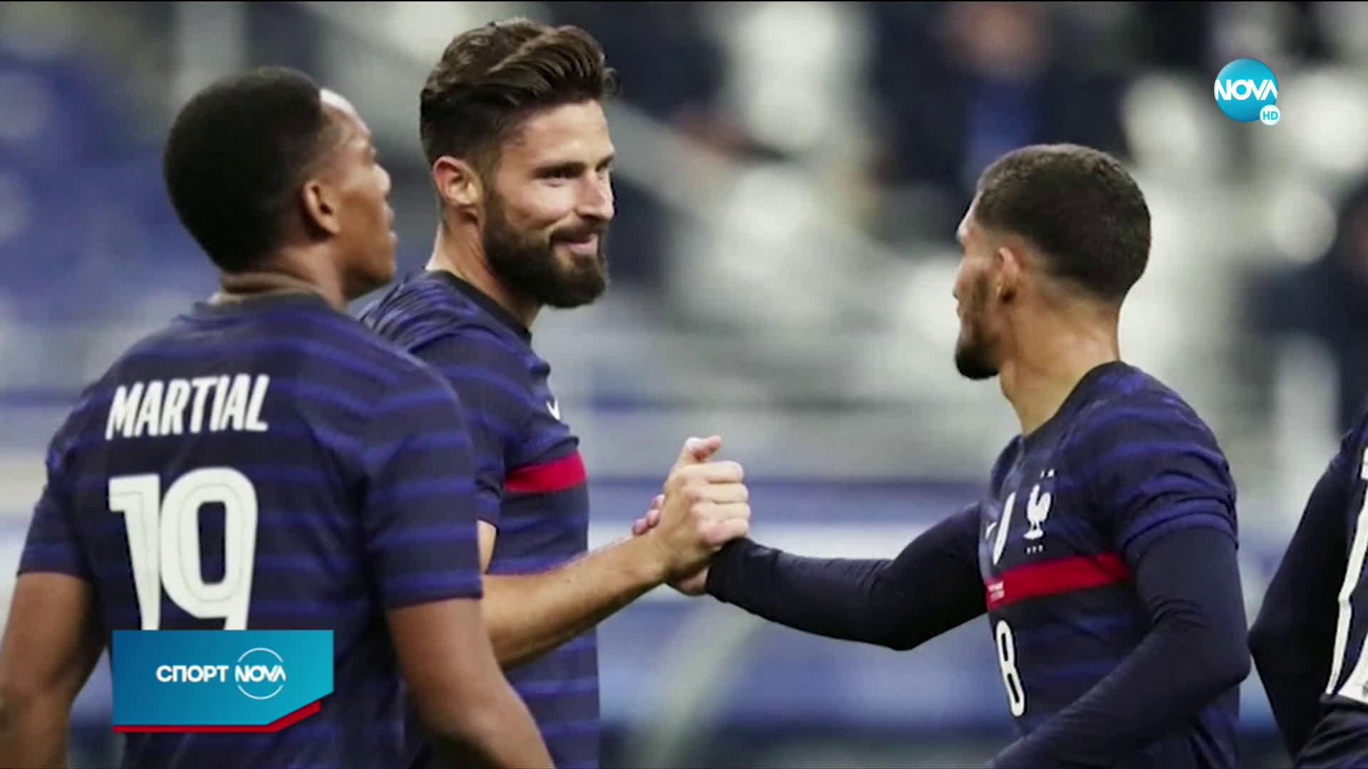Жиру изпревари Платини по голове за Франция