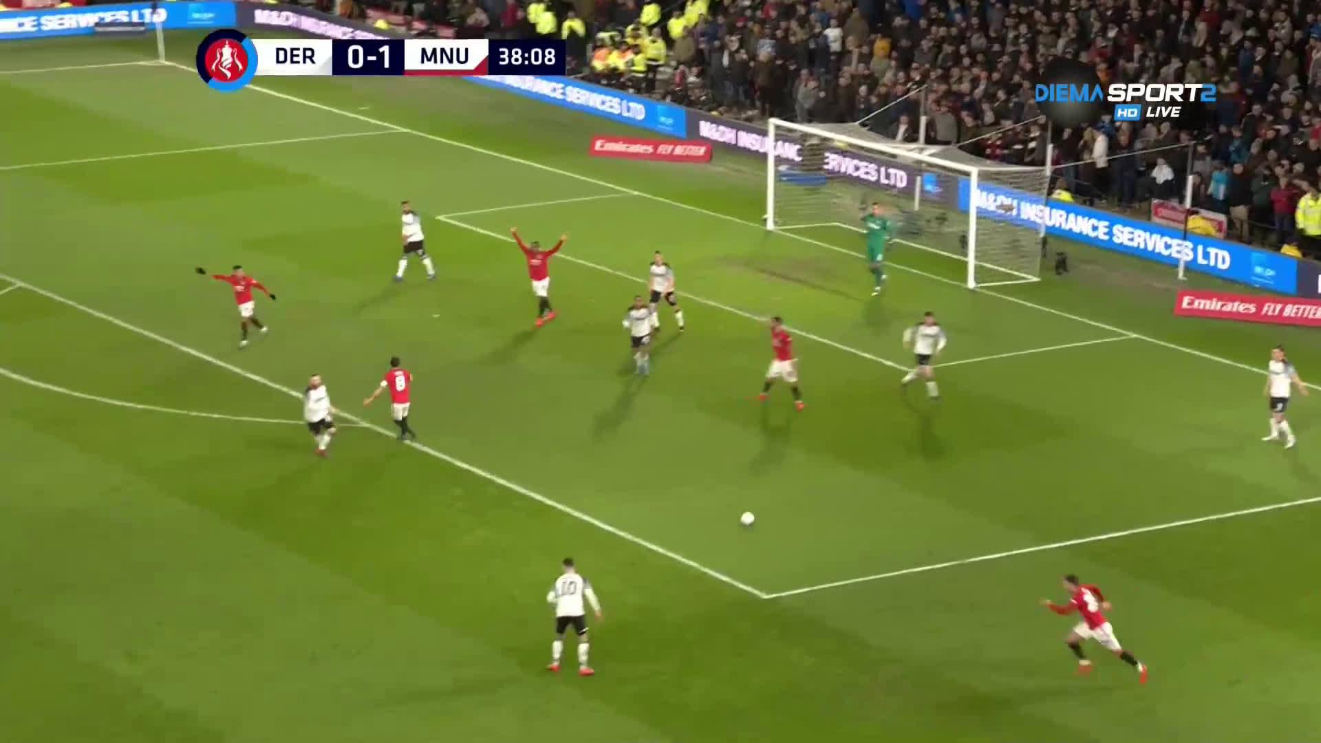 Дарби Каунти - Манчестър Юнайтед 0:3 /репортаж/