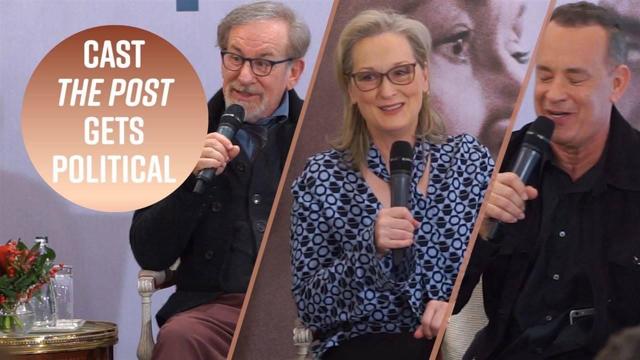 Meryl Streep & Steven Spielberg on feminism and Trump