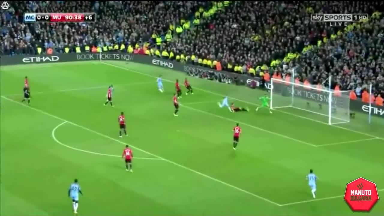 Highlights: Manchester City - Manchester United 27/04/2017