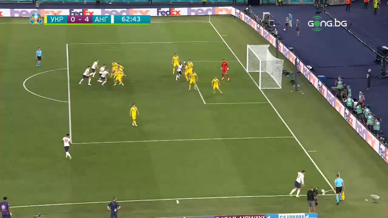 Украйна - Англия 0:4 /репортаж/