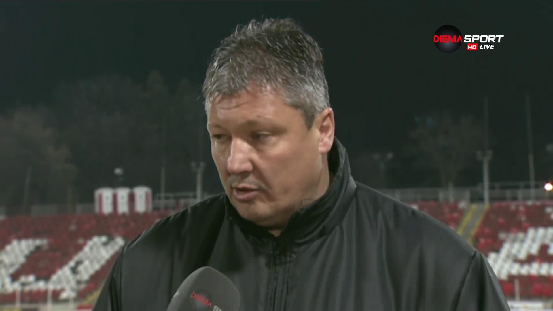 Любо Пенев: Много съм доволен от играта, решението за Манолев е мое